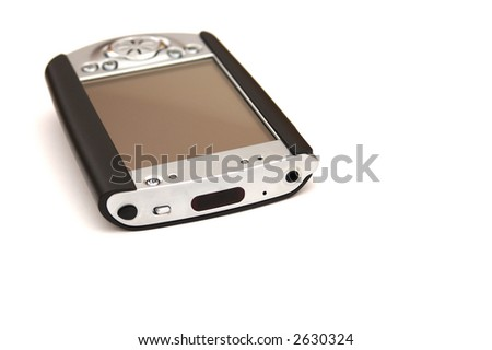 hand held device (pda) - stock photo