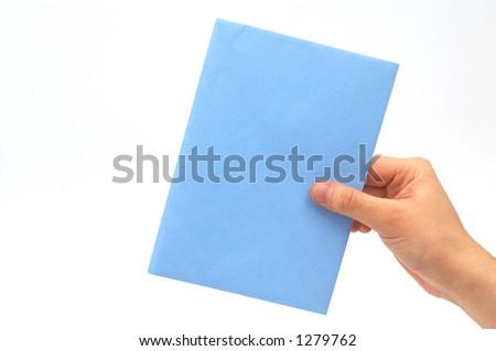 hand holding car key - stock photo