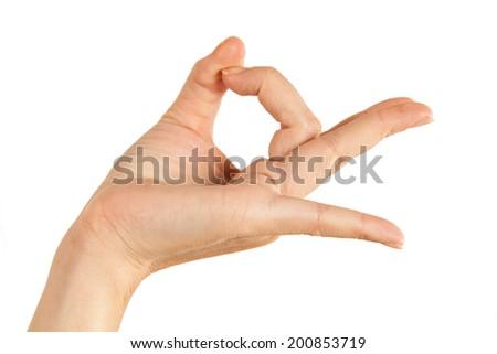 Hand Holding Virtual Card-XXXL - stock photo