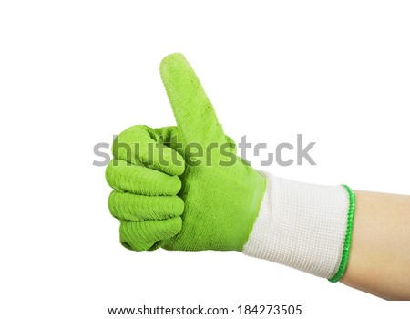 Gardening Gloves Stock Images Royalty Free Images