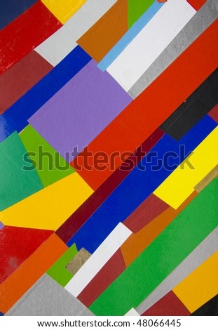 Hand  made  abstract suprematic background - stock photo