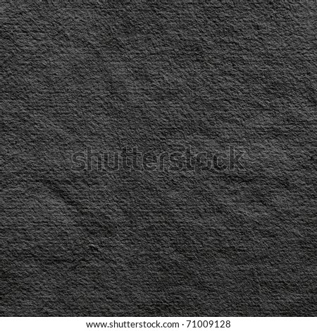 hand made black paper background - stock photo