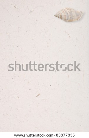 hand made paper - stock photo