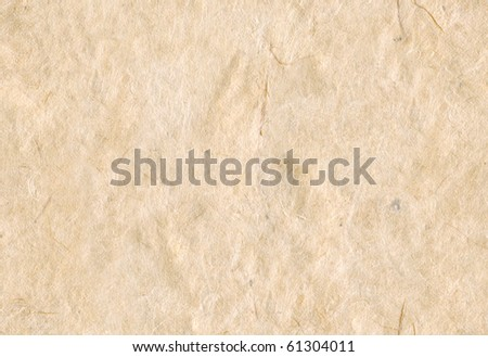 Hand made paper seamless background form (Daphne papyracea, Lokta) plant, which is sustainably harvested in Nepal for paper production - stock photo