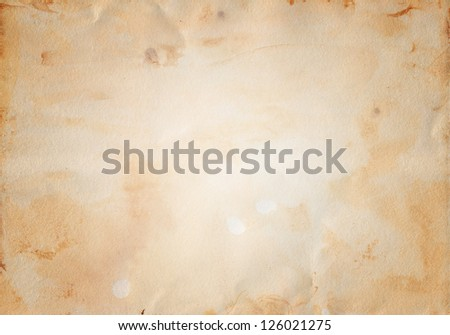 Hand made texture on watercolour paper - stock photo