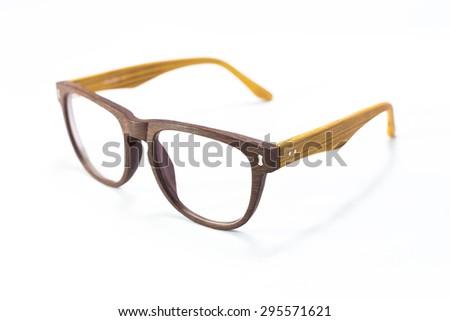 hand made wooden eyeglass frames from side - Wooden Eyeglass Frames