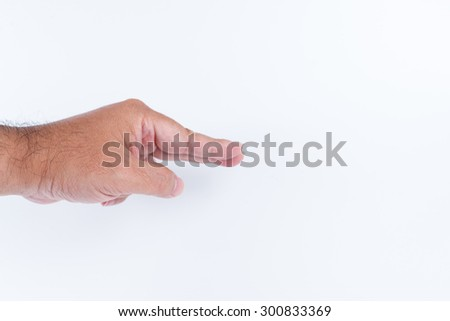 hand motion with thing