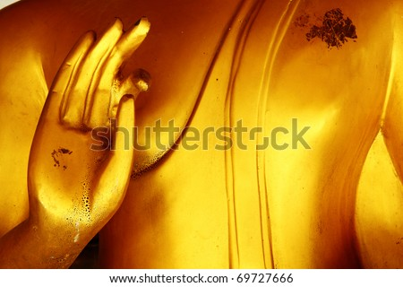 Hand of Buddha in Thailand