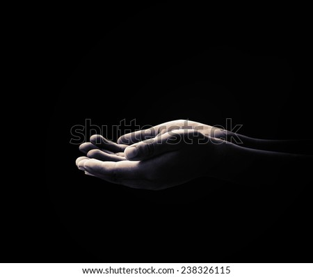 Hand of victim boy with hands tied up with rope in emotional stress and pain, afraid, restricted, trapped, call for help, struggle, terrified. - stock photo