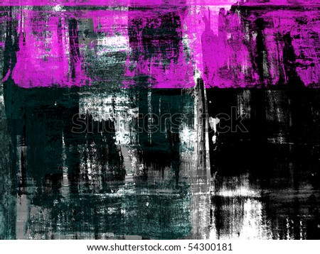 hand-paint abstract background - stock photo