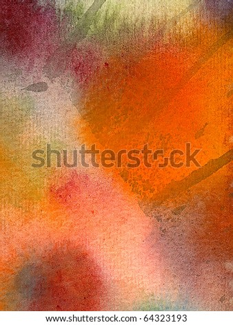 hand-paint watercolor abstract background