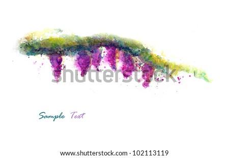 Hand Painted - stock photo
