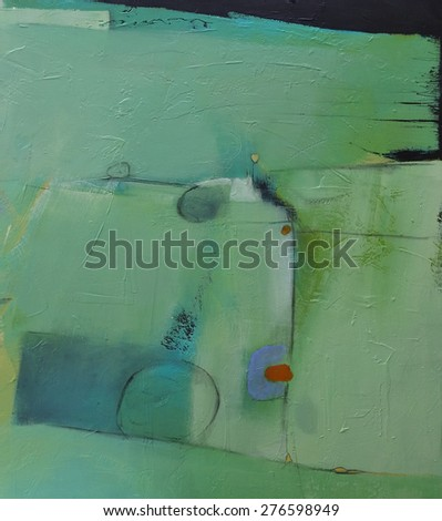 Hand painted abstract grunge background - brush strokes on paper with space for text. Textured background.  - stock photo
