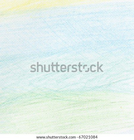 Hand painted background colorful - stock photo