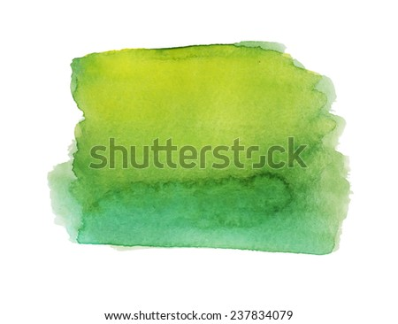 Hand painted watercolor texture - stock photo