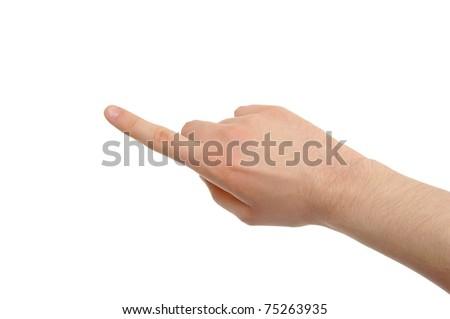 hand photo - stock photo