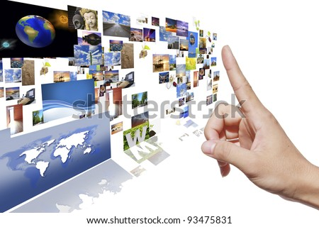 Hand-picked images. May be used as the background. - stock photo