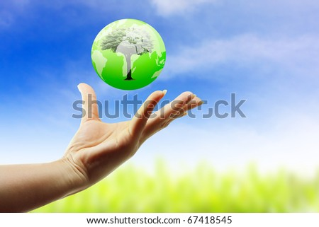 Hand protect the world