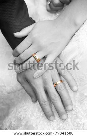 hand ring - stock photo
