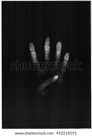 hand scan Photo copy