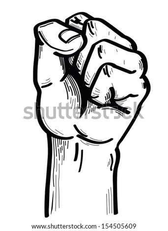hand strong - stock photo