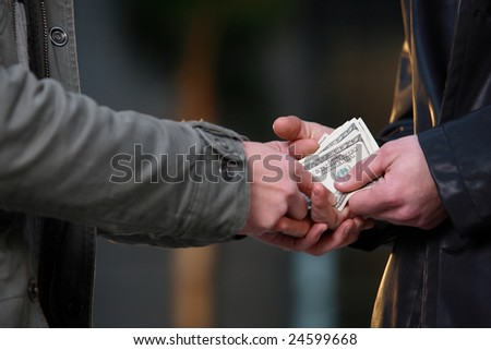 hand to hand money pass