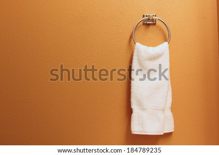 hand towel - stock photo