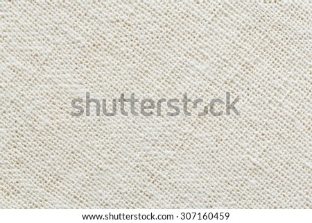 Hand weaving cotton cloth texture, natural fabric - stock photo