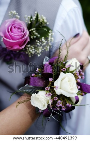 prom corsage stock images, royaltyfree images  vectors, Beautiful flower