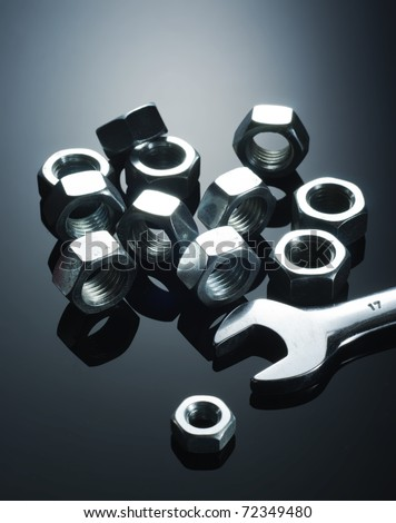 Hand wrench and metal nuts