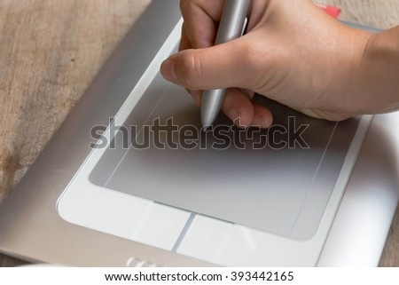 hand writing Pen tablet
