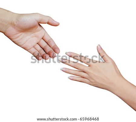 hand young - stock photo