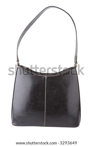 Handbag isolated on a white background