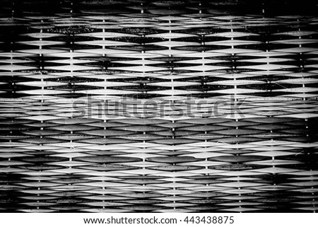 Handcraft pattern weave texture natural background for design - stock photo