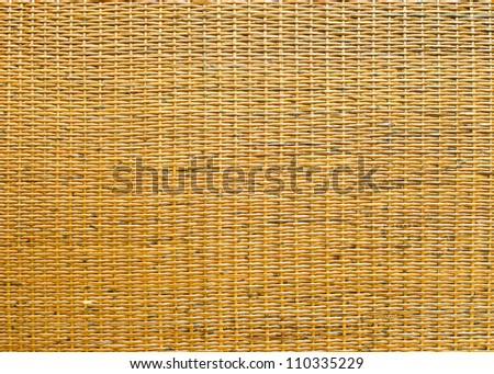handcraft weave texture natural bamboo - stock photo