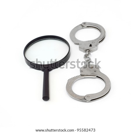 handcuffs made of metal