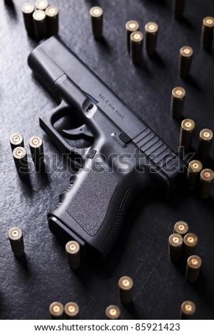Handgun, Pistol - stock photo