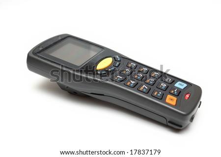 Handheld Mobile Computer & Bar Code scanner - stock photo