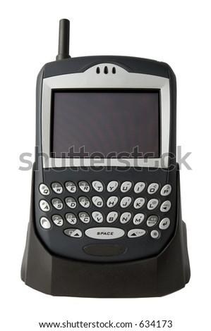 Handheld PC - stock photo