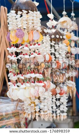 Handicrafts produced  - stock photo