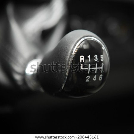 handle transmissions - stock photo