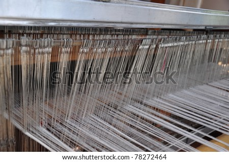 handloom - stock photo