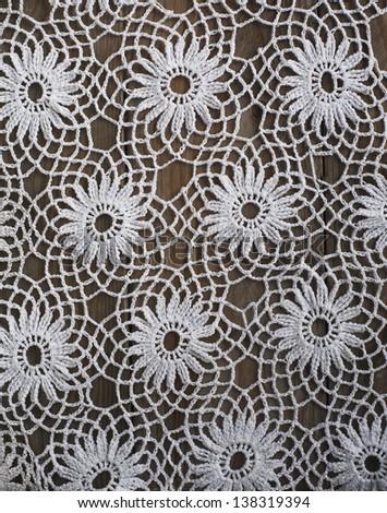 Handmade Crochet Tablecloth Pattern Stock Photo (Edit Now)- Shutterstock