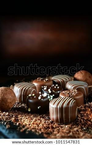 stock-photo-handmade-dark-milk-chocolate