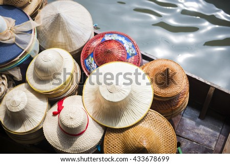 Handmade hat shop on boat for sale