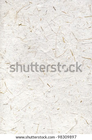 Handmade japan rice paper backgrounds, scan texture - stock photo