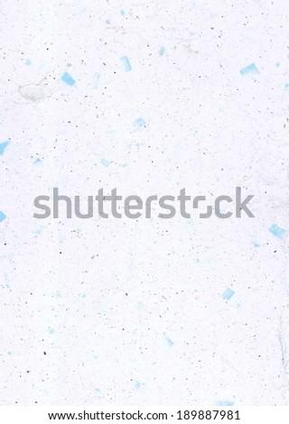 Handmade Japanese paper light blue - stock photo
