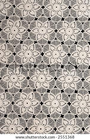 Handmade Lace - stock photo