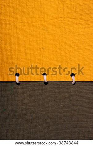 Handmade paper book - stock photo