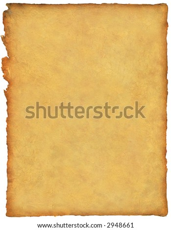 Handmade paper with great detail - stock photo